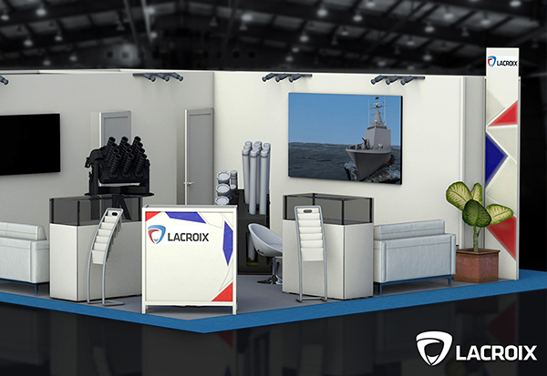 LACROIX at the International & Naval Defence Exhibition and Conference