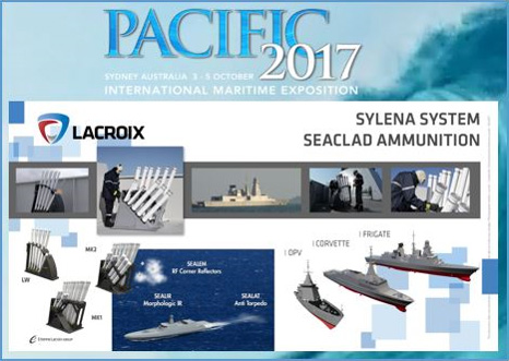 Lacroix Defense PACIFIC 2017 Sylena Naval Countermeasures