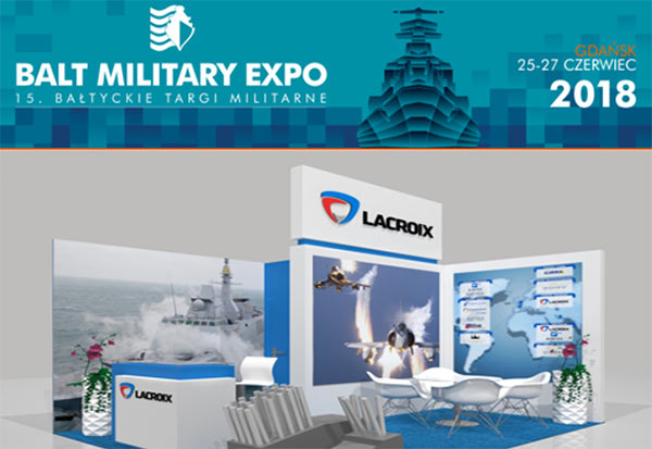 LACROIX to showcase at Balt Military Expo