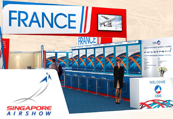 Lacroix at Singapore Airshow 2018