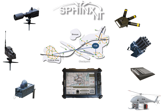 Lacroix Defense Area Protection System Sphinx NT