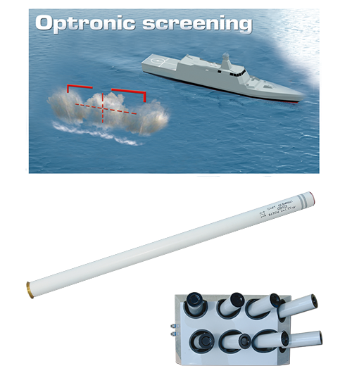 Lacroix Defense Naval Countermeasures Seaclad Ammunition Advanced Decoys Seamosc Screening Masking